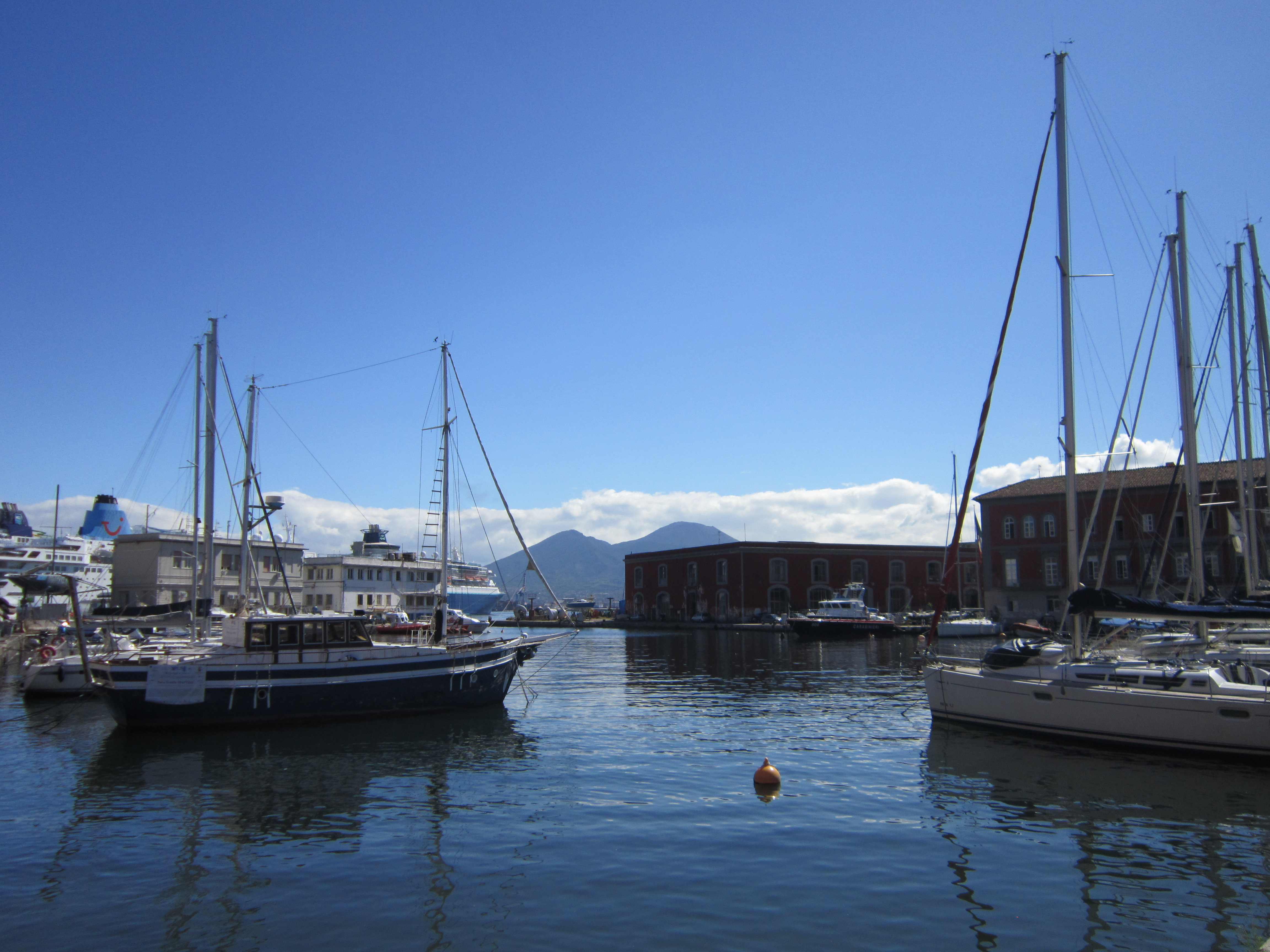 Harbour in Napoli