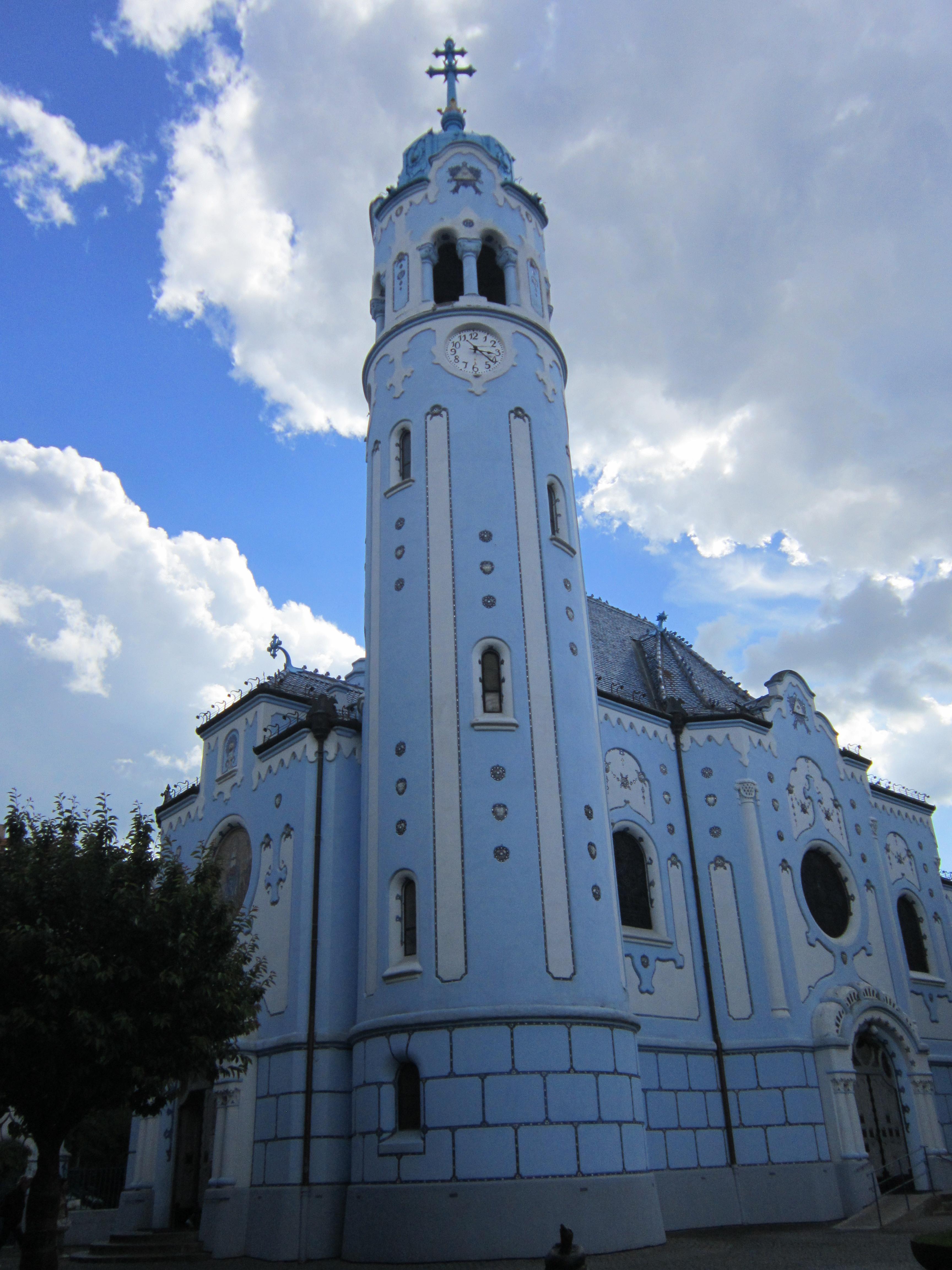 The Blue Church (Church of St. Elizabeth / Kostol svätej Alžbety)