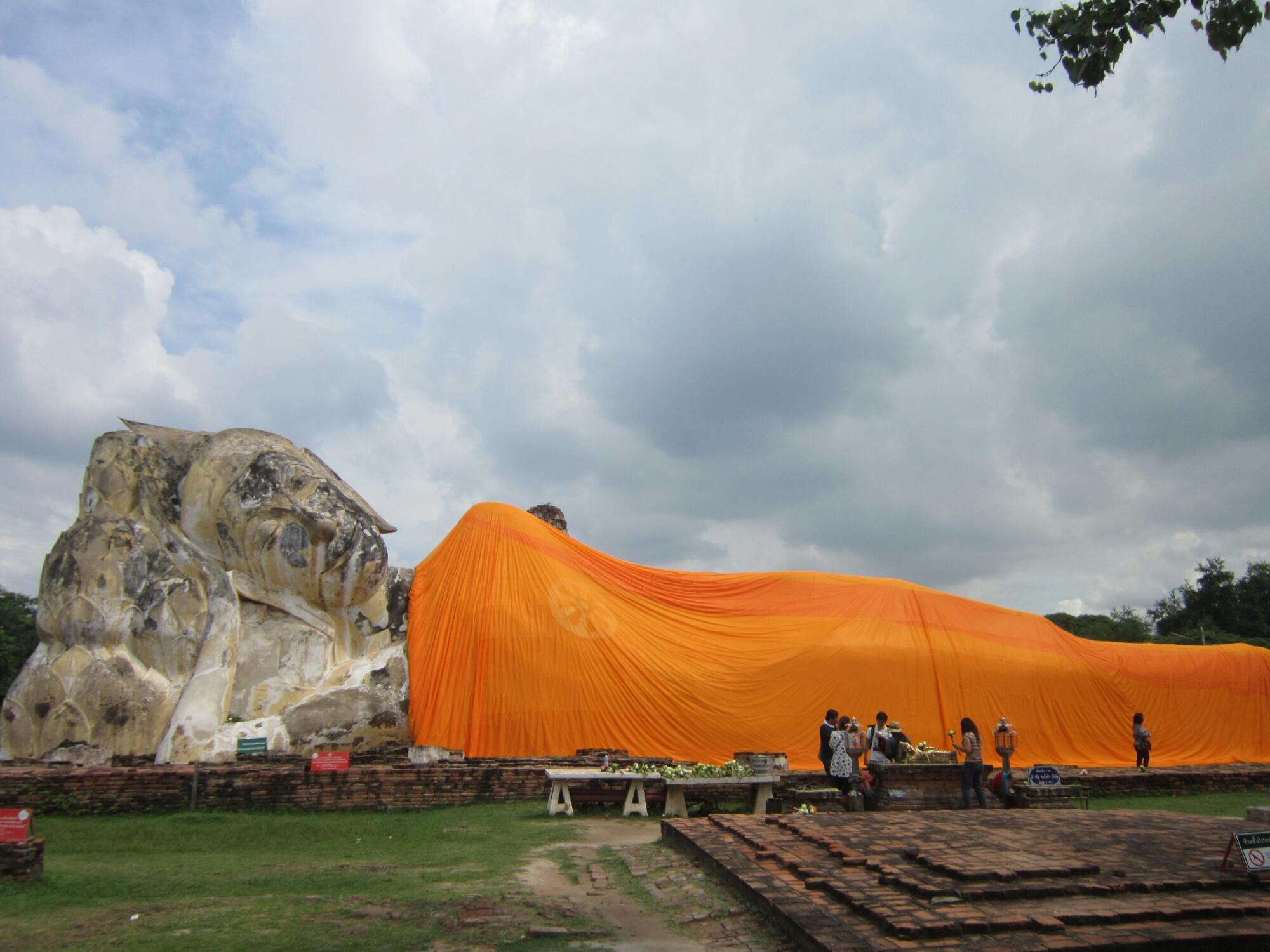 Ayutthaya Historical Park - Wat Lokaya Sutha