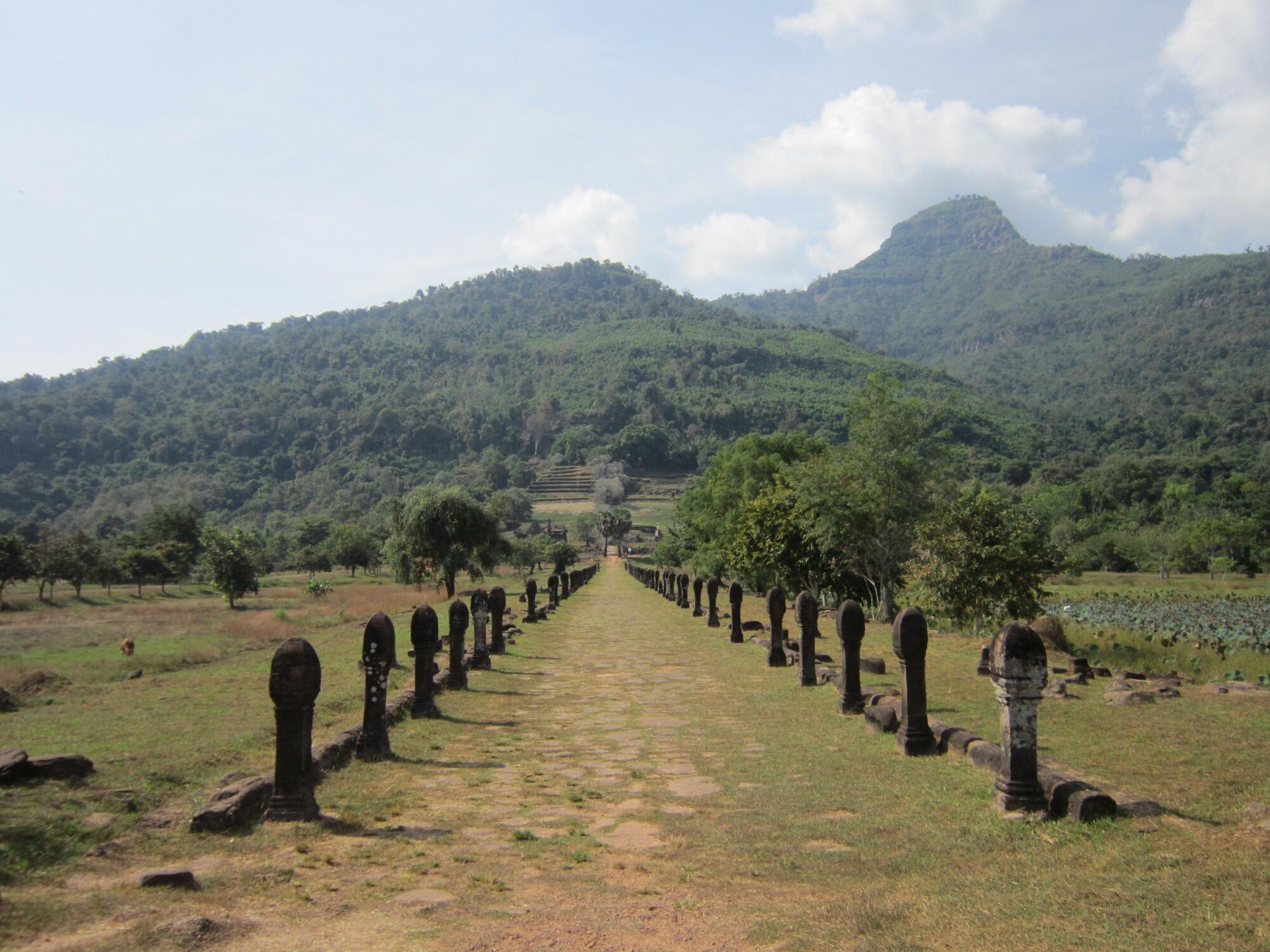Khmer ruins in Champasak, Laos
