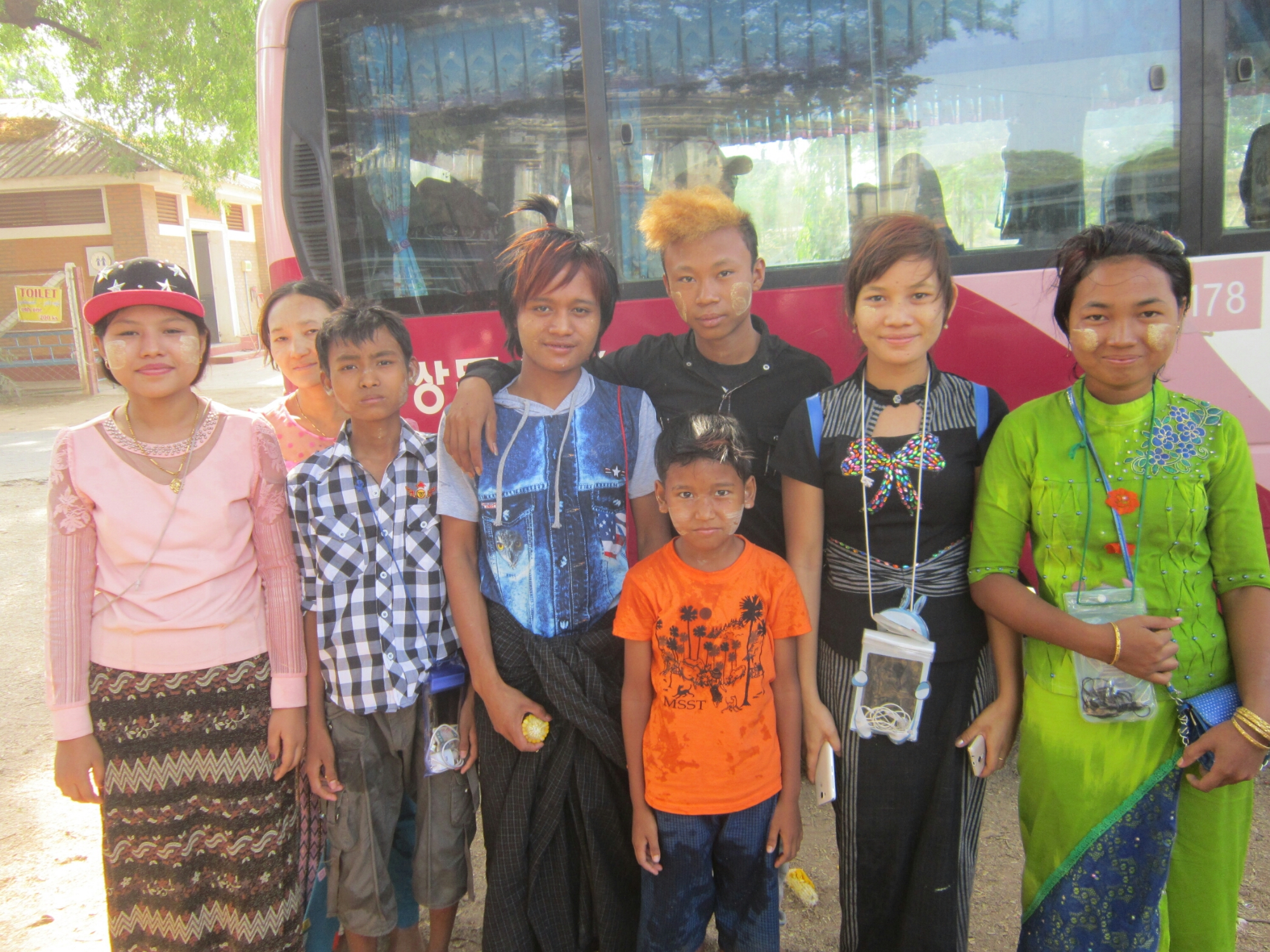 The People of Myanmar - pilgrims in Bagan