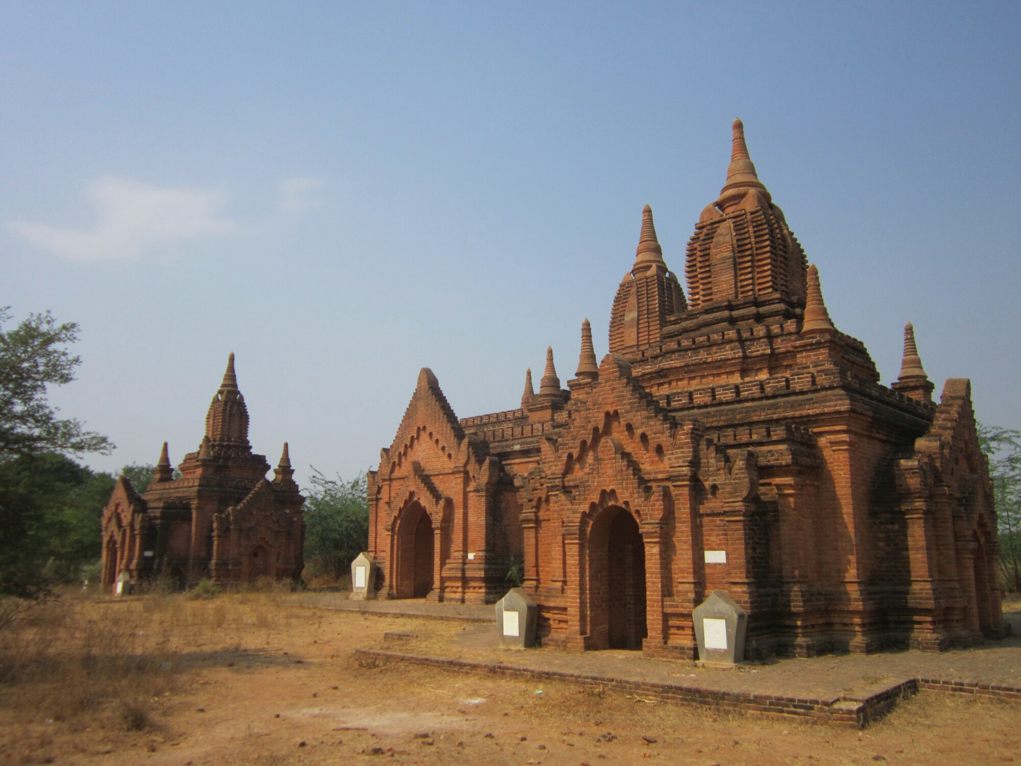 Temples Of Bagan - small temples