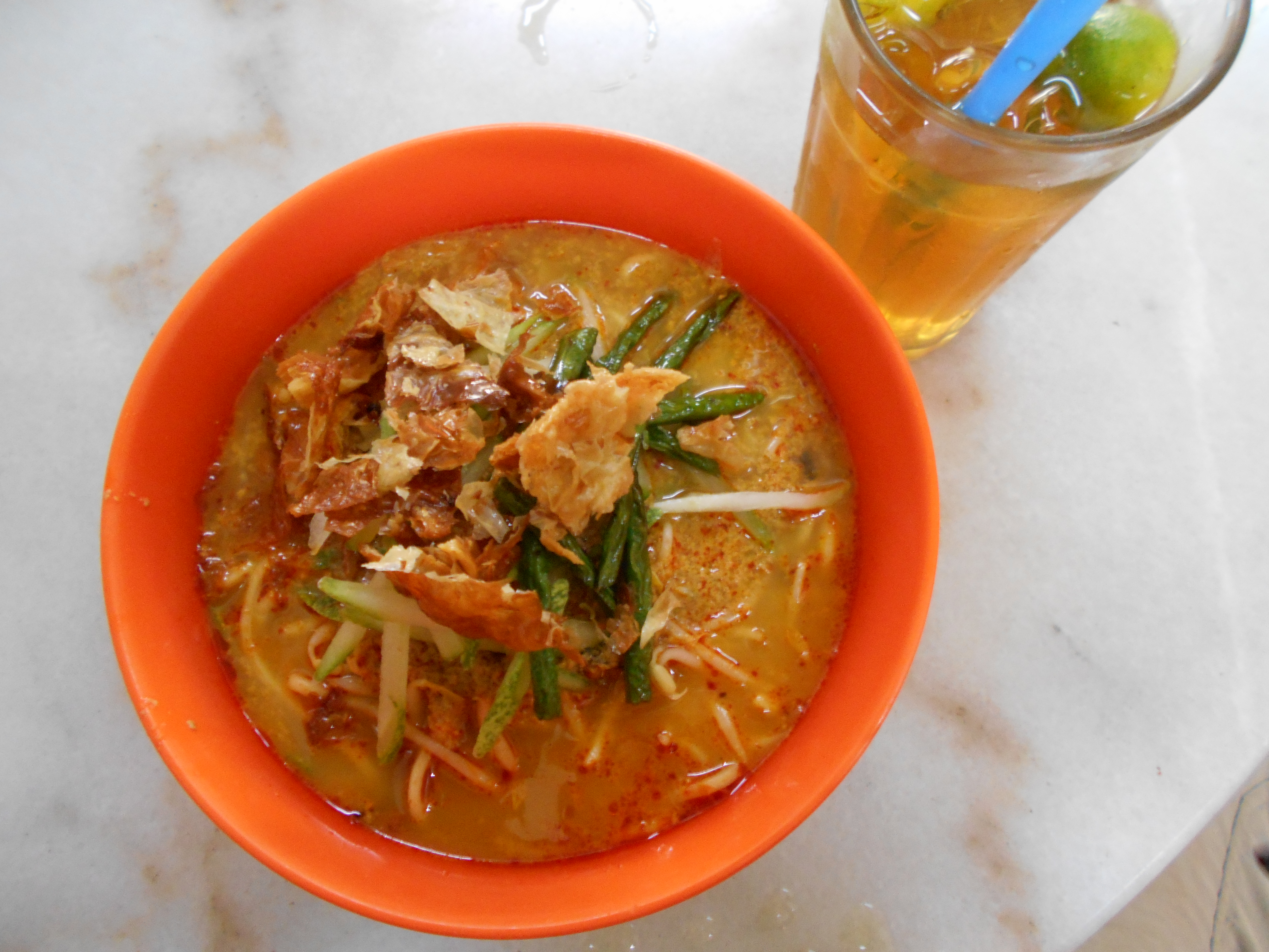 Malay Vegetarian food. Food for a Vegetarian In Southeast Asia