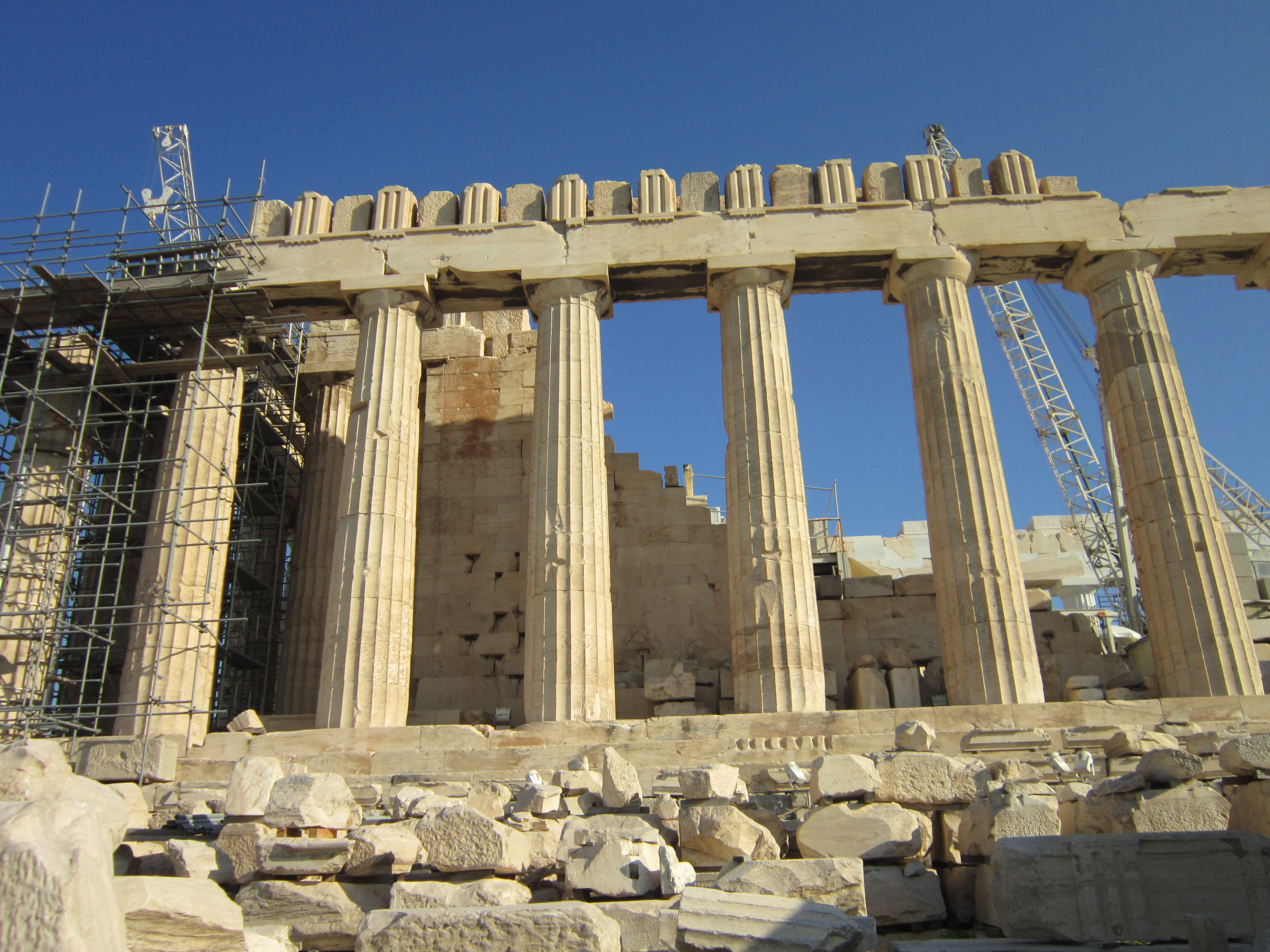 My own first solo travel experience was to Athens!