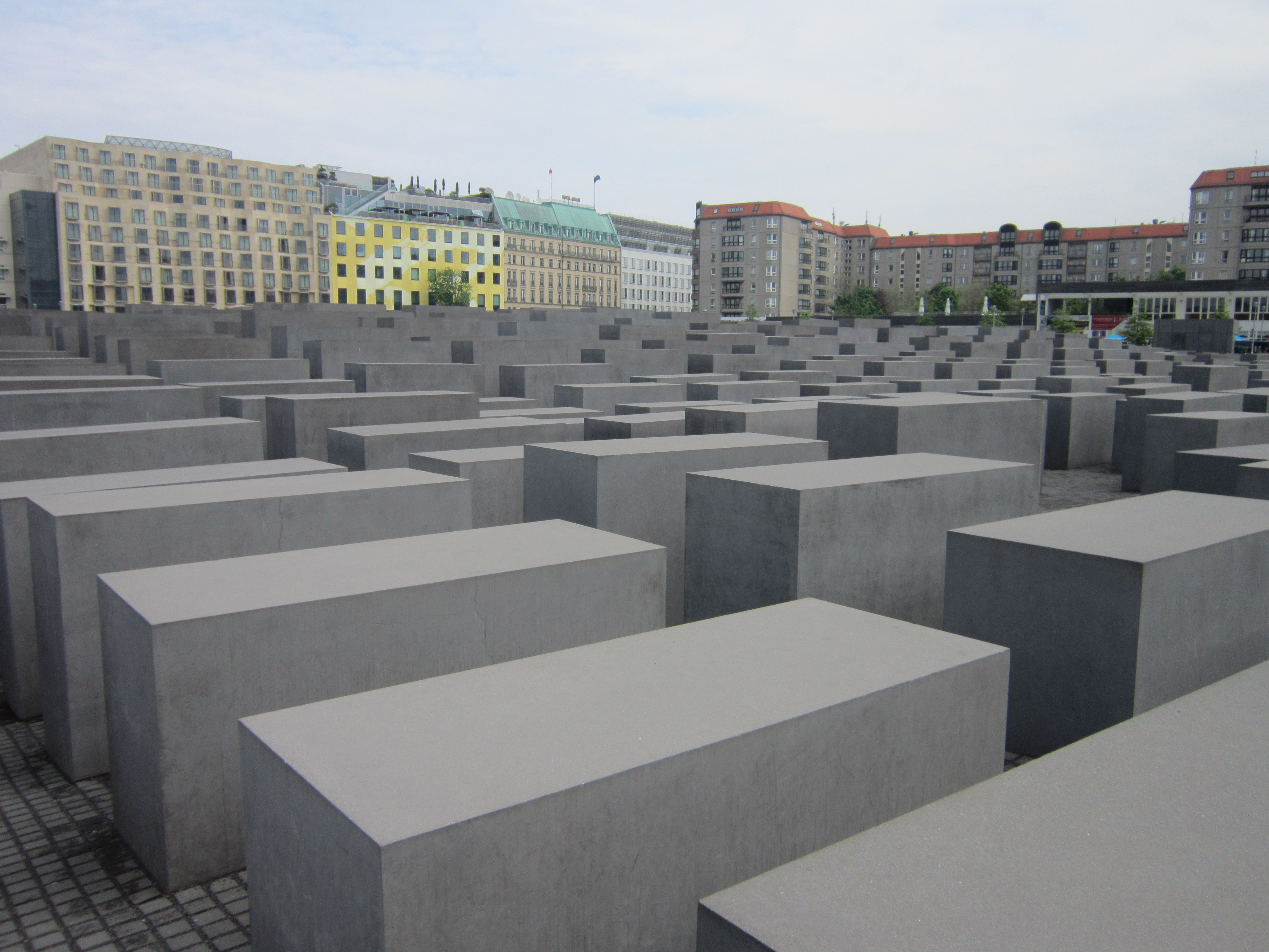 things to do in berlin - Holocaust memorial