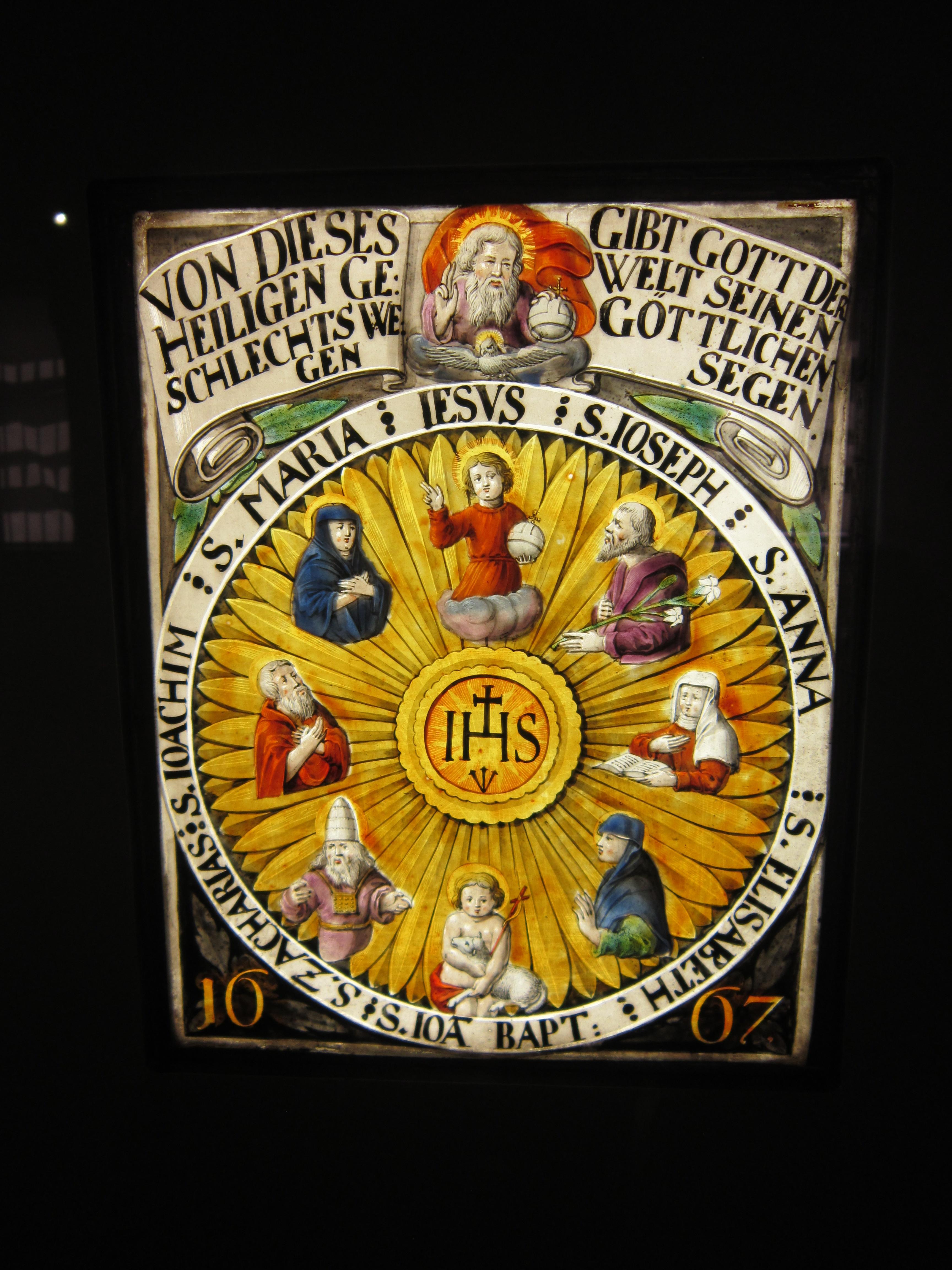 Bratislava museum - religious imagery