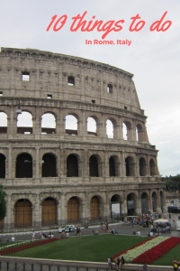 10 things to do in Rome