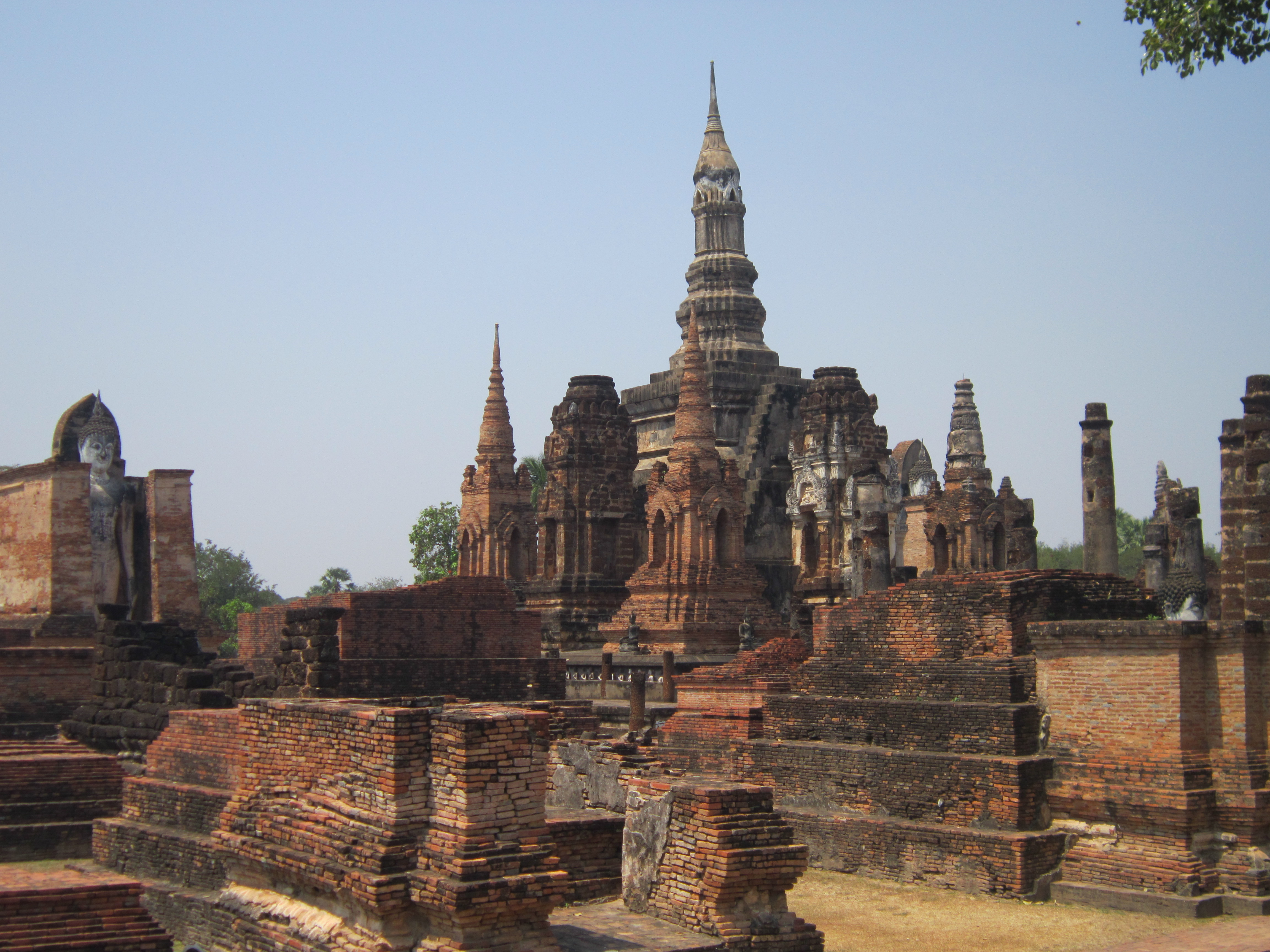 Stupas in Sukhothai Historical Park