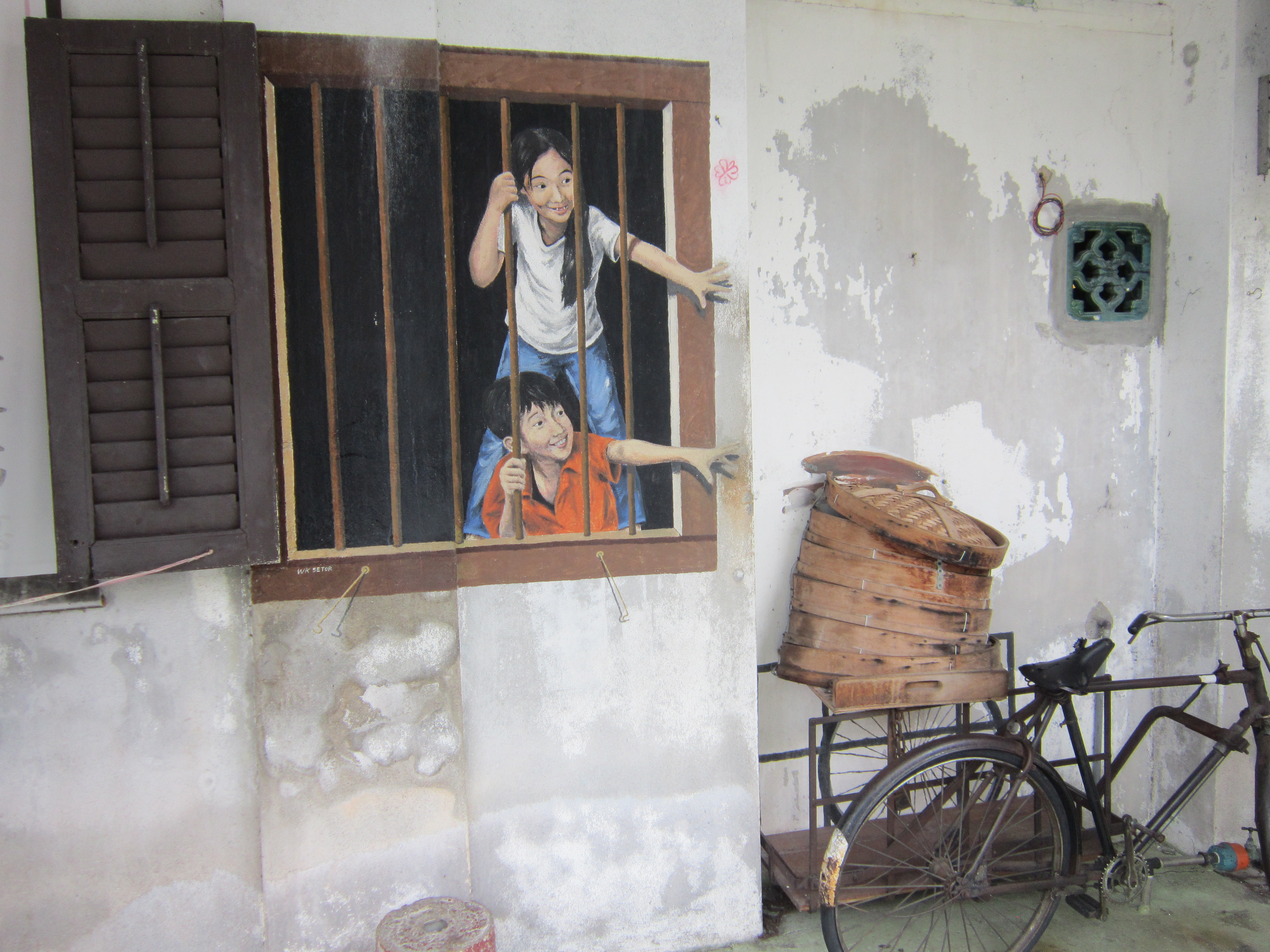 Penang Street Art I Want Pau