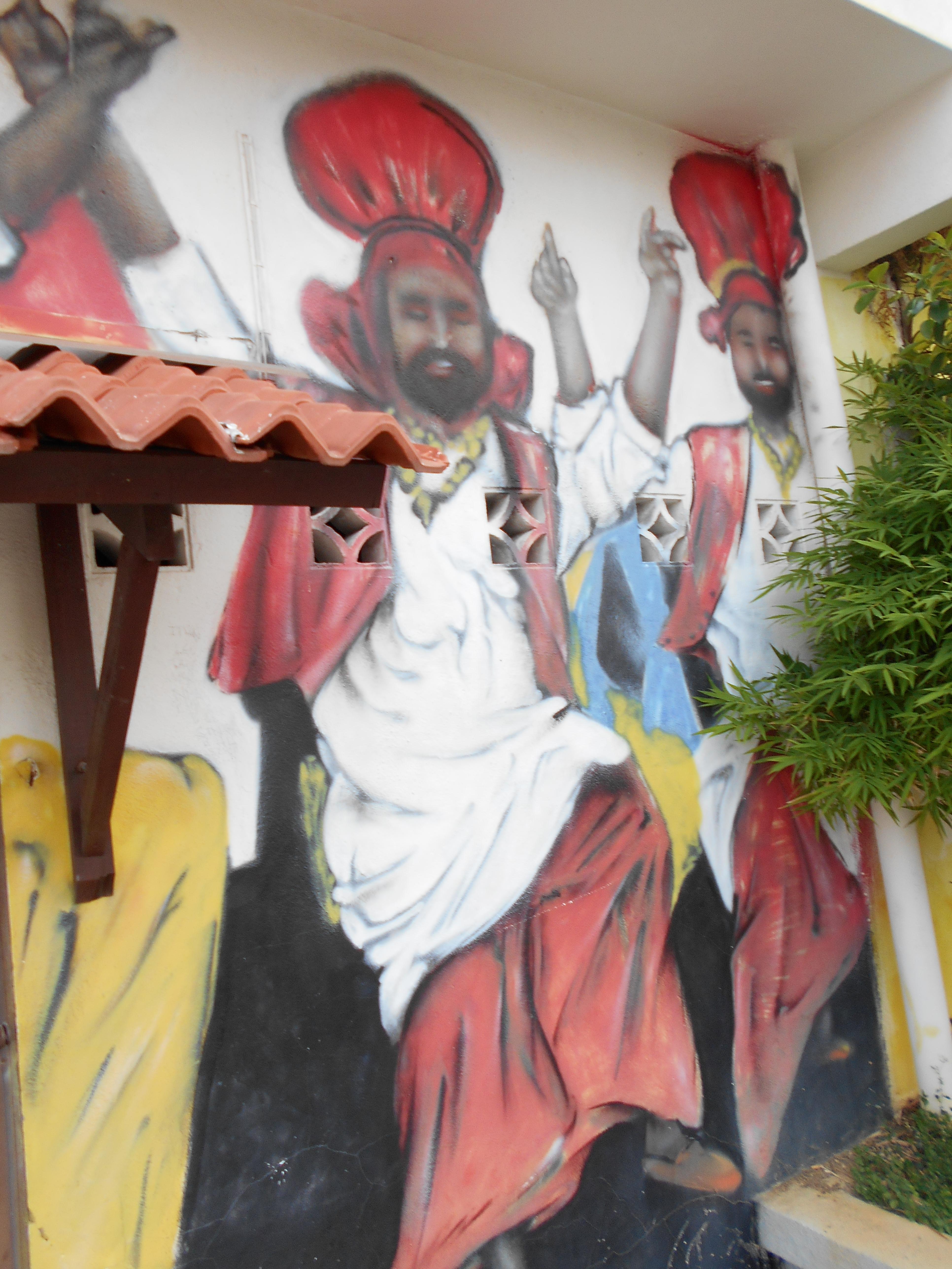 Melaka Street Art Riverside