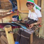 The People Of Myanmar - Kayan women wearing the 'long neck' traditional decoration