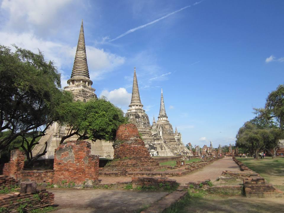 Wat Phra Si Sanphet,, Ayutthaya Historical Park