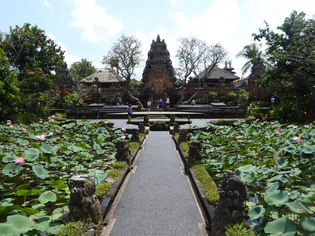 Saraswati Temple. Visited whilst backpacking Ubud