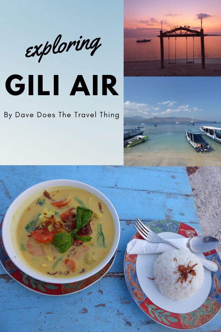 Exploring Gili Air