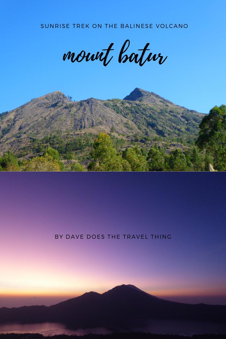 Mount Batur - Sunrise trek on the Balinese volcano