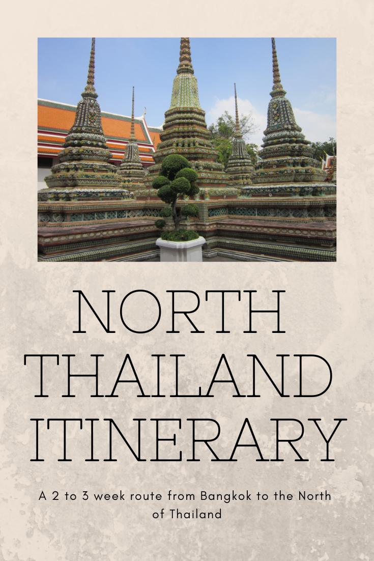 North Thailand Itinerary