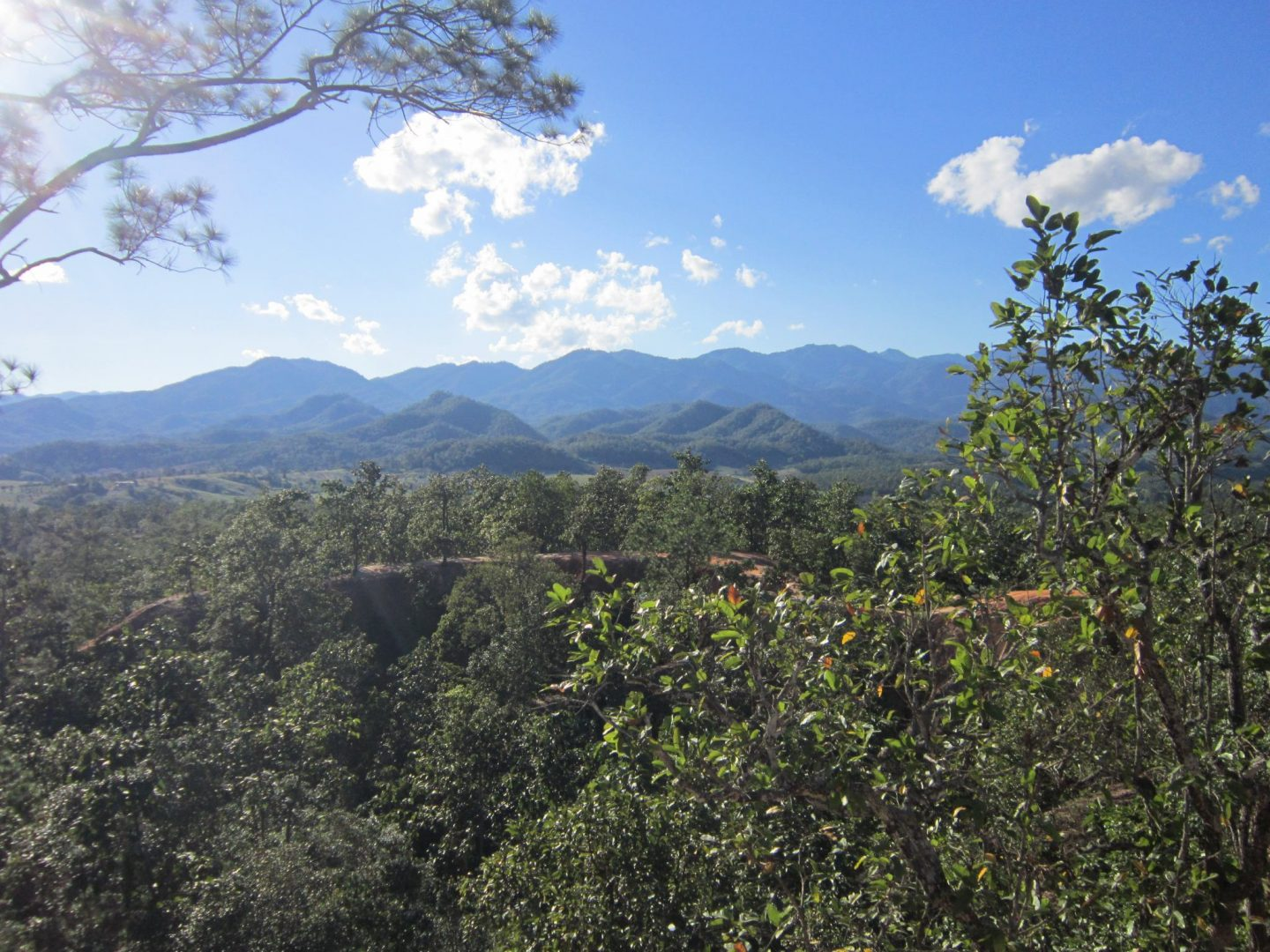 View found in Pai Canyon - ANorth Thailand Itinerary