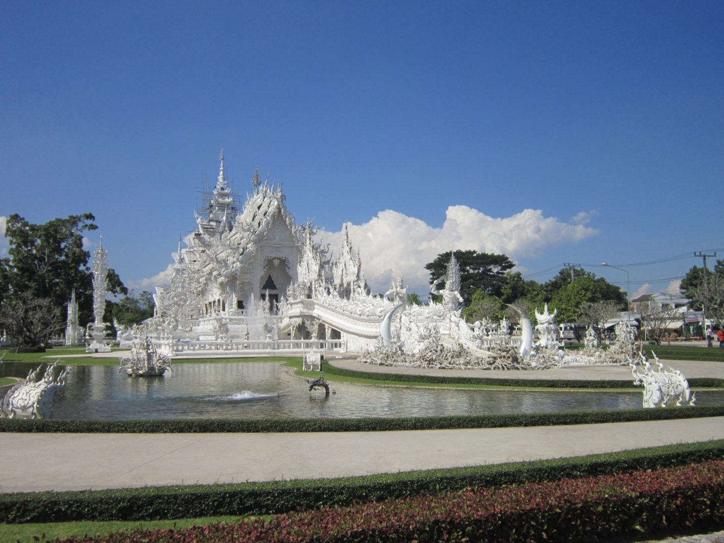 the White Temple, Chiang Rai - North Thailand Itinerary