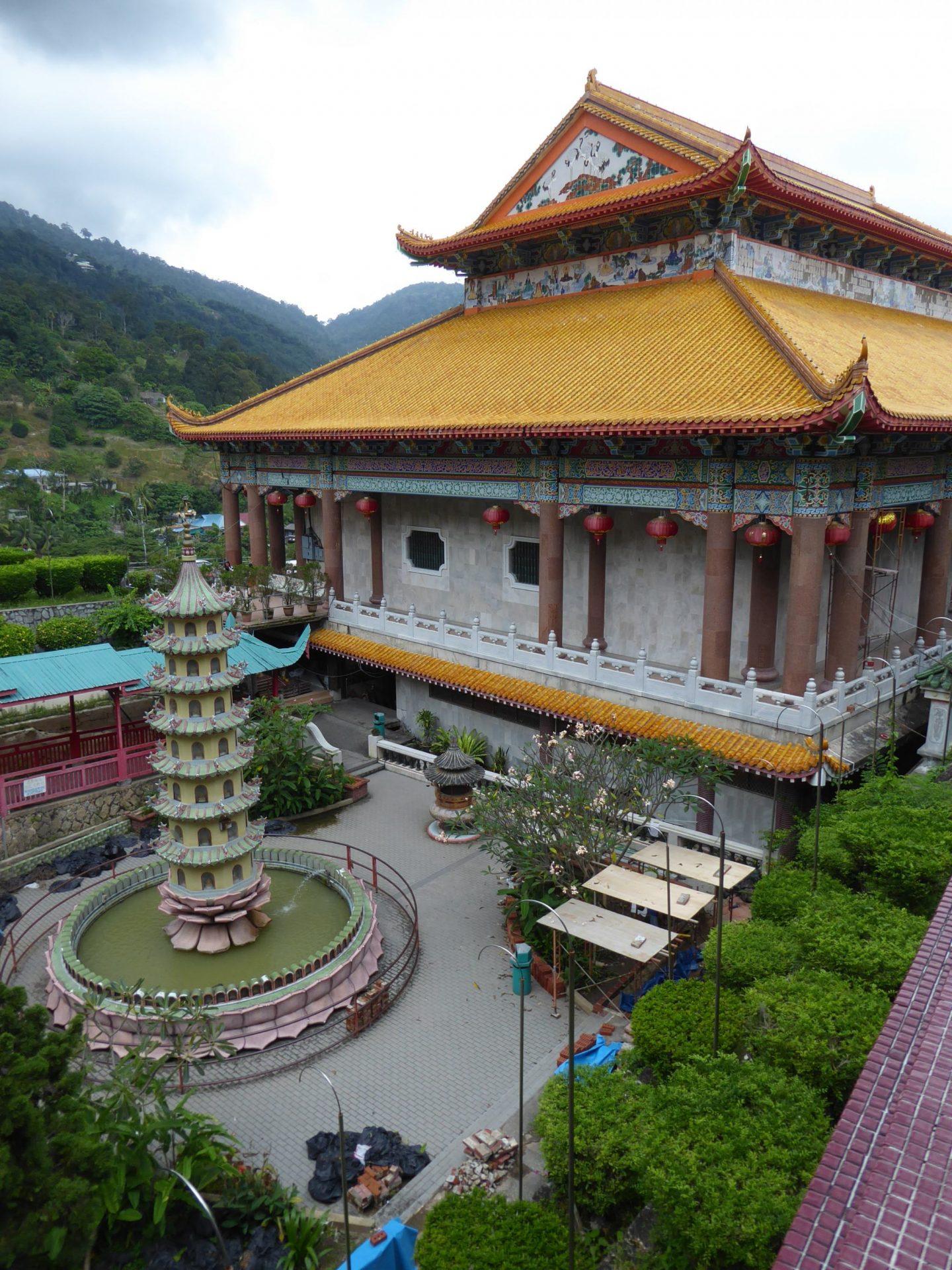 Kek Lok Si temple, Penang. Peninsular Malaysia Itinerary