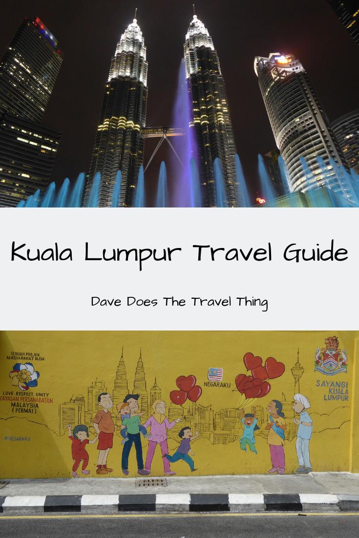 Kuala Lumpur Travel Guide Pinterest Pin