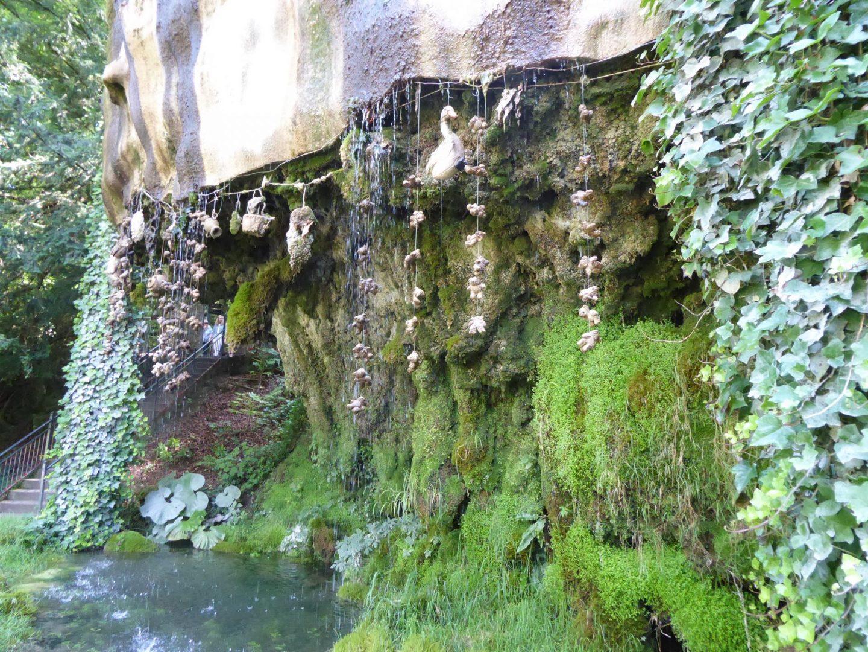 The Petrifying Well at Mother Shipton's Cave, Knaresborough.