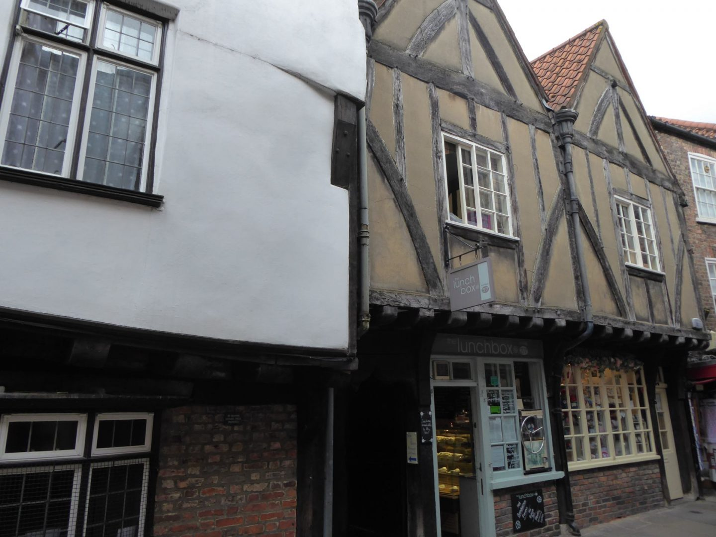 Old buildings in the Shambles