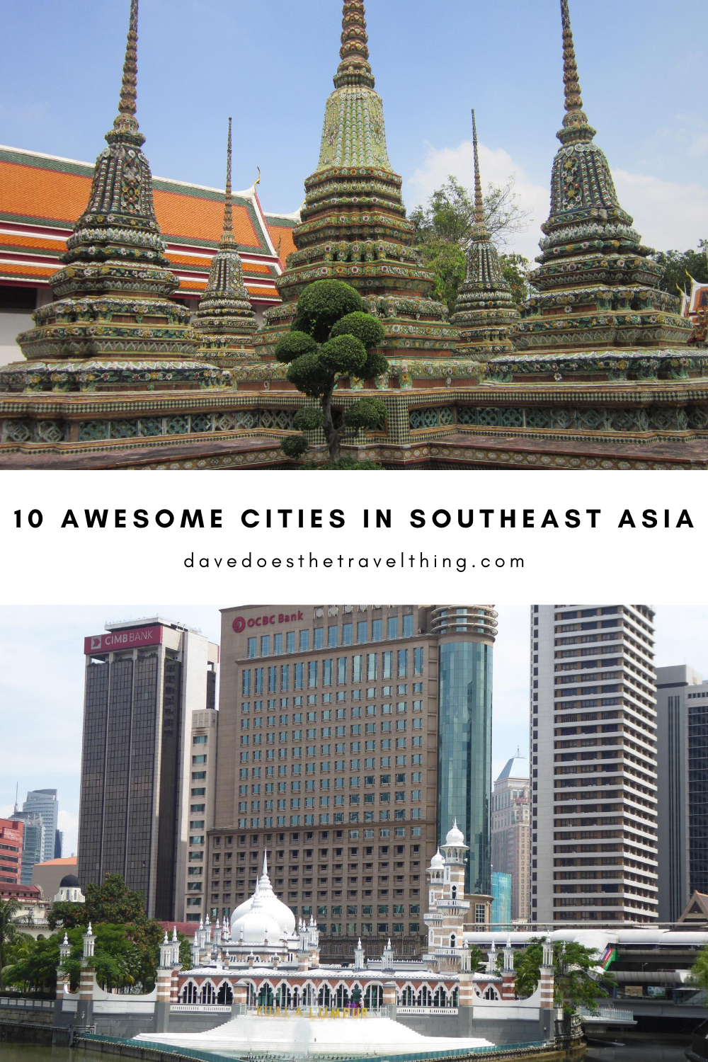 10 Awesome cities in Southeast Asia