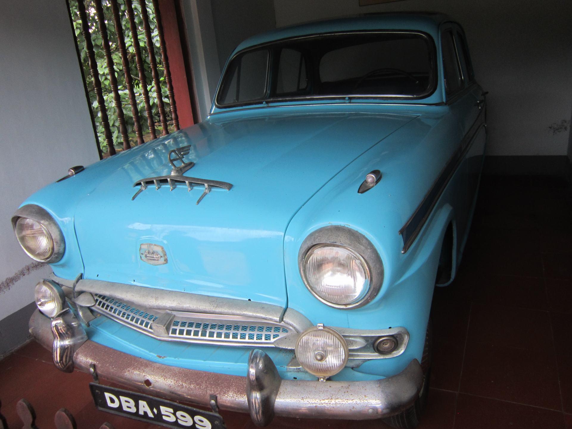 The car driven by Thích Quảng Đức to Saigon